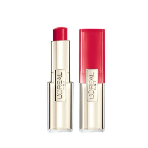 L'Oreal paris Lip Balm Caresse Melting Tint #708 Red Full Size Lipstick Stick #LOralParis