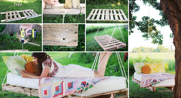 pallet swing bed instructions