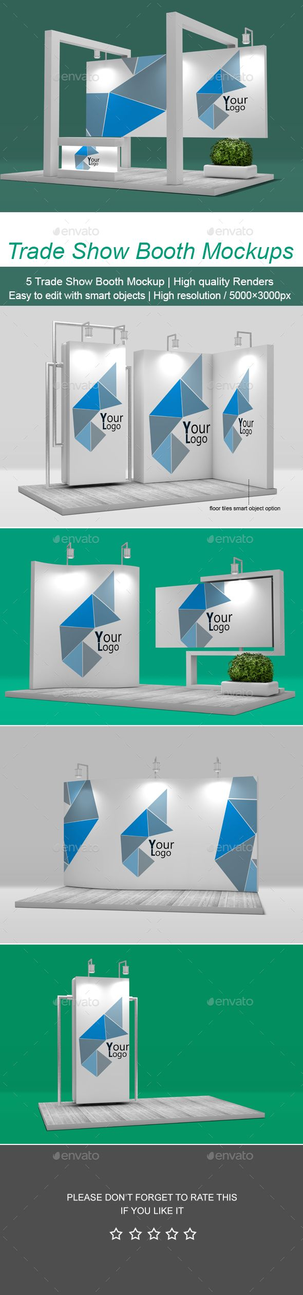 Trade Show #Booth #Mockup pinned by @digitalphaser