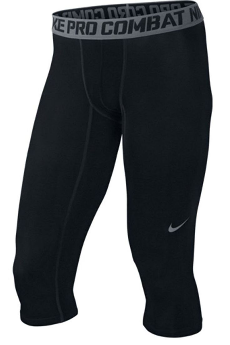 Nike Pro Combat Hypercool Compression Woodland 3/4 Training Tights (Small). Dri-FIT Max fabric helps you get drier, faster. Mesh fabric enhances ventilation in high-heat zones. Elastic waistband provides a snug, comfortable fit. Zoned compression for support and a locked-down feel. Flat seams move smoothly against your skin.