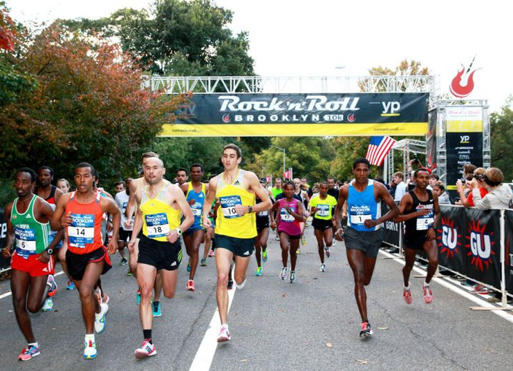 A Brooklyn Rock 'n' Roll Half Marathon is coming to New York City in October 2015 with 20,000 runners and a course from Barclays Center to Prospect Park.
