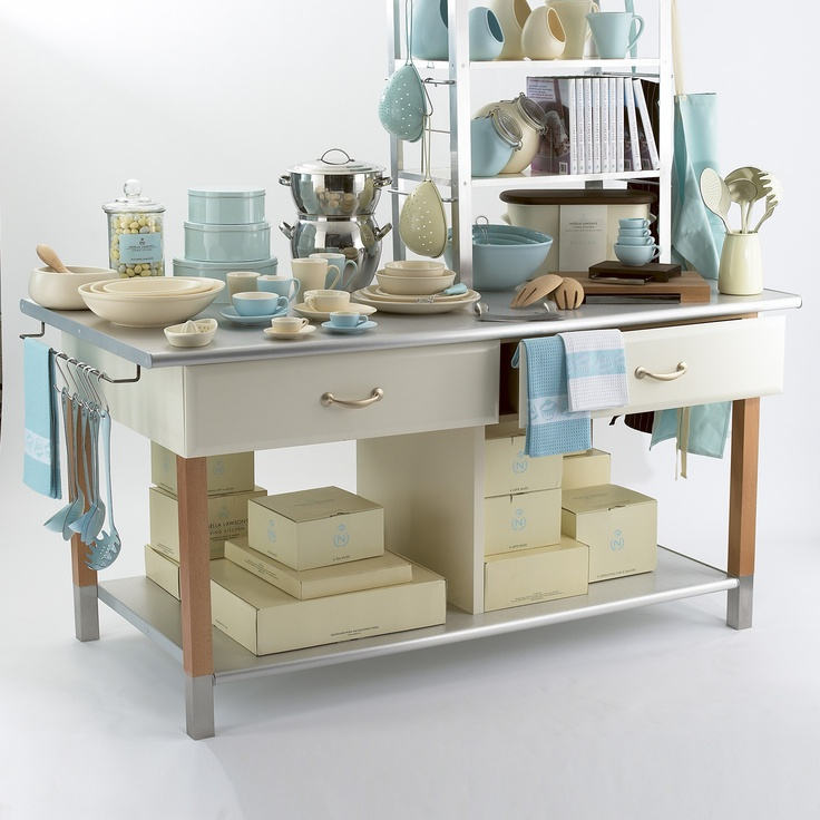 ACHICA | Mesa Grande Para Cocina De Nigella Lawson. Kitchen ...