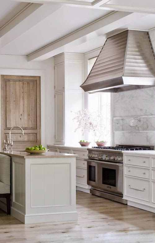 neutral kitchen. greige: interior design ideas and inspiration for the transitional home