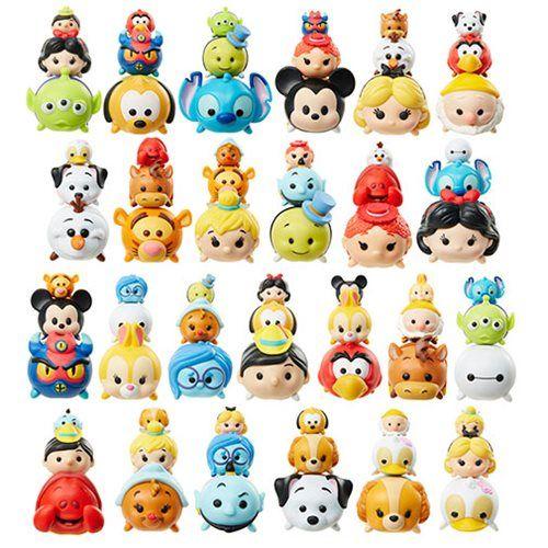 Disney Tsum Tsum 3-Pack Mini-Figures Wave 3 Case