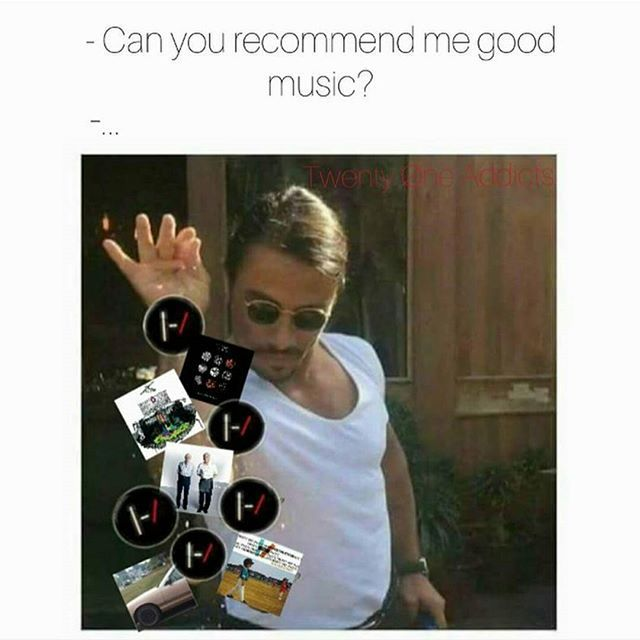 Stolen for a good cause  #memes #twentyonepilots #skeletonclique