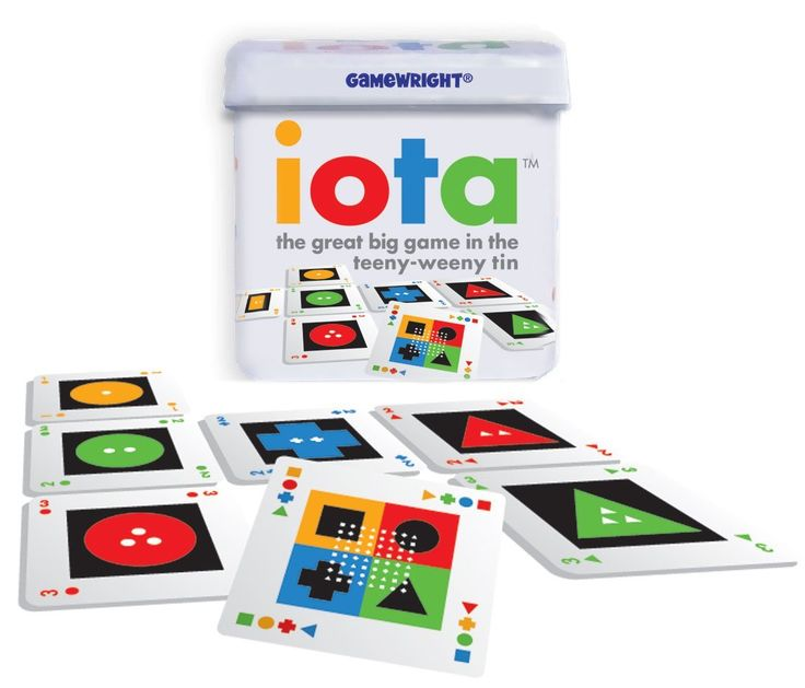 Amazon.com: Iota The Great Big Game in The Teeny-Weeny Tin: Toys & Games
