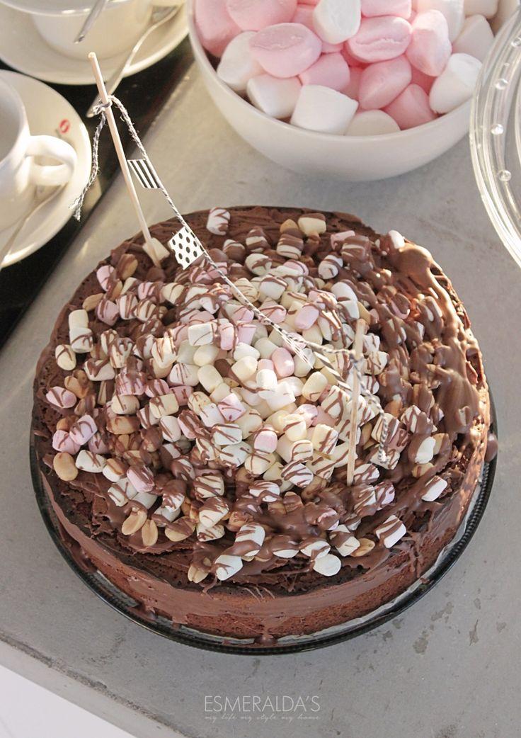 Rocky Road Cake | Esmeralda's