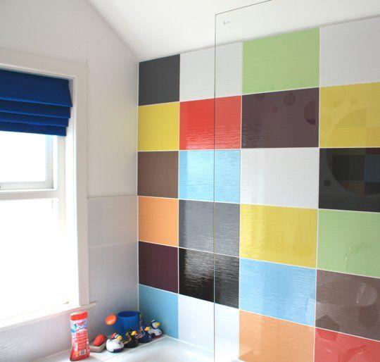 Colorful Bathroom :) via @Gilda Locicero Therapy