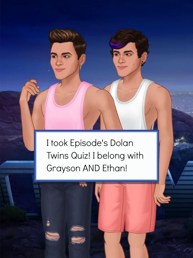 Guess which Dolan Twin I ended up with! #DolansDoEpisode http://bit.ly/EpisodeEthanGrayson http://bit.ly/EpisodeHere