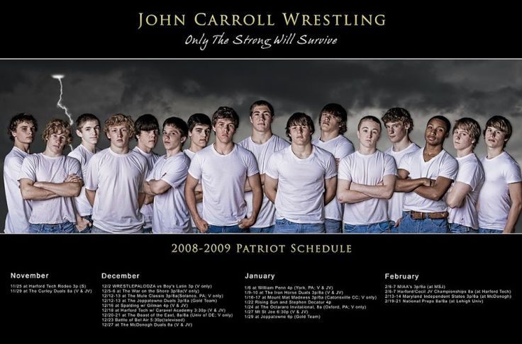 High School Team Posters | Wrestling Team Poster :Dave Hoffmann – A Harford County Dabbler in ...