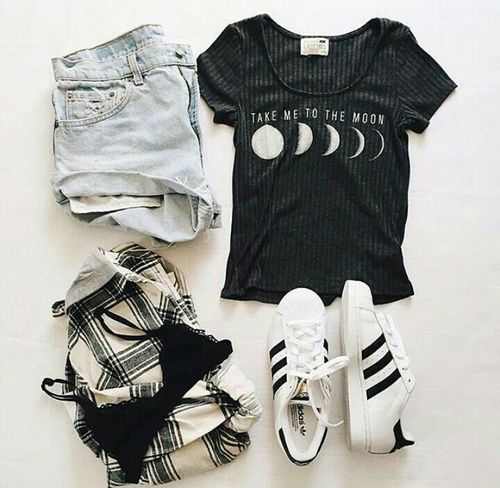 Imagen de fashion, outfit, and adidas