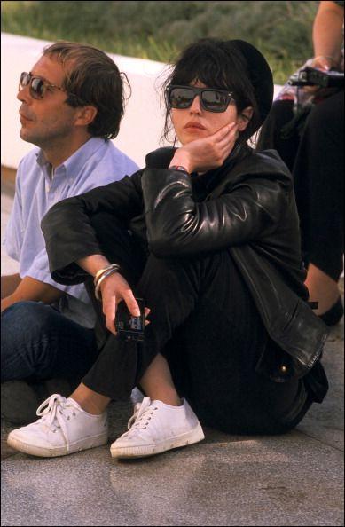 Isabelle Adjani in Algiers, Algeria on November 02, 1988.
