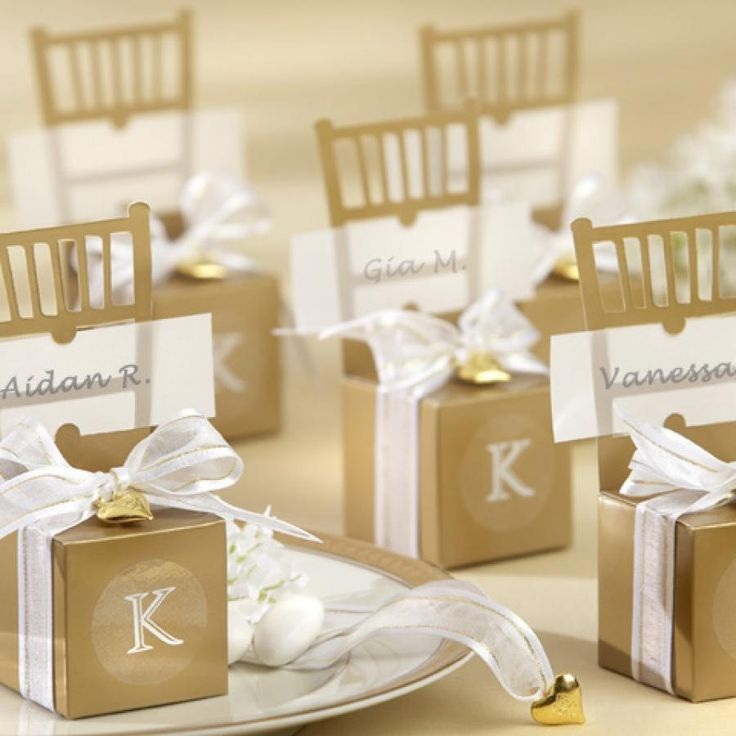 Some Cute Wedding Favors