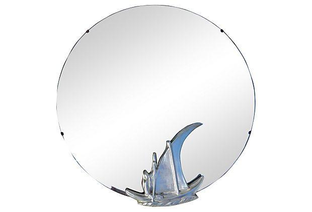 Art Deco Sailboat Mirror on OneKingsLane.com