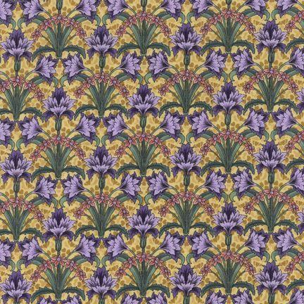 Robert Kaufman Fabrics: EY-4816-2 JEWEL from Jardin Nouveau