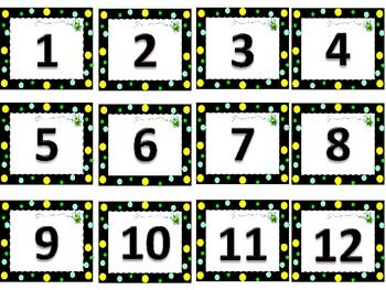 Pin by Tricia Stohr-Hunt on Number/Counting Cards | Pinterest