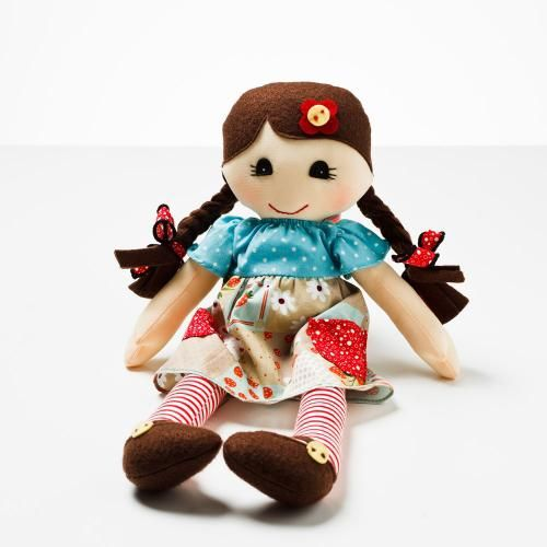 Beautifully handcrafted rag dolls with unique clothing designs that will become any little girl's best friend.