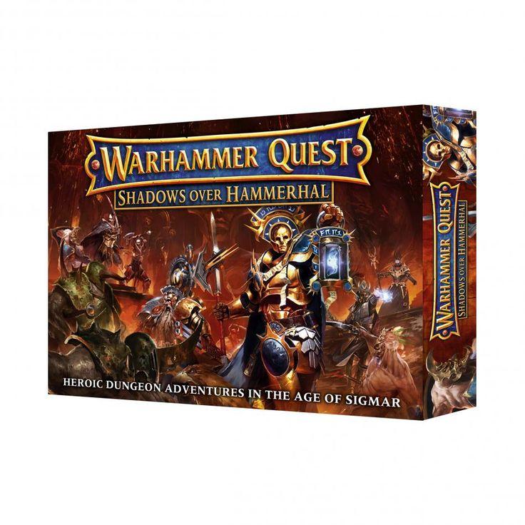 Warhammer Quest: Shadows Over Hammerhal - Element Games - Warhammer and Warhammer 40k Store