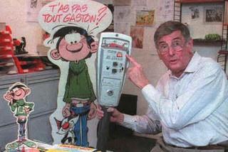 Andre Franquin (January 3, 1924 - January 5, 1997) Belgian cartoonist (creator of Guust Flater).