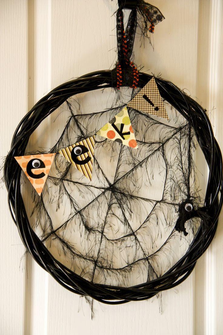 Diy halloween wreath - Halloween Wreath