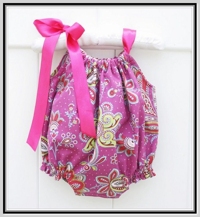 Baby Bubble Romper Pattern Free Baby Projects Baby