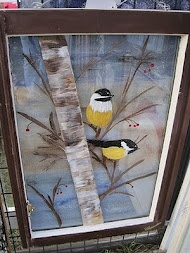 Old Window Painting--sally, i have windows :-)