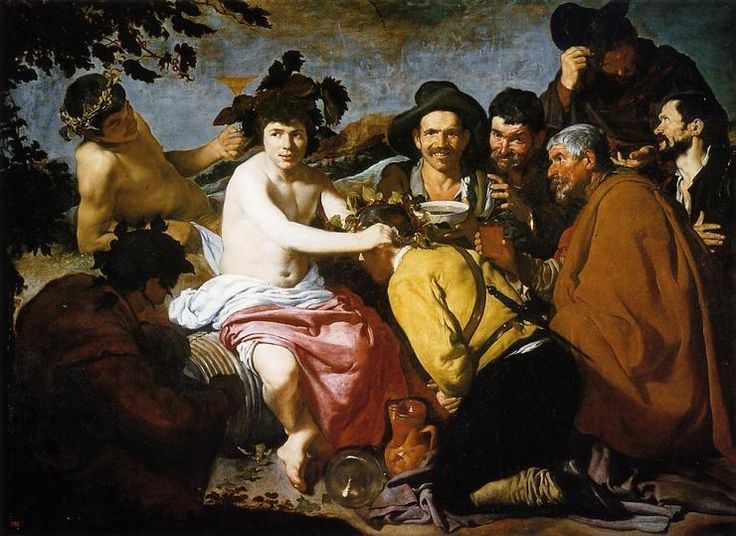 Bacchus aka , by Diego Velazquez