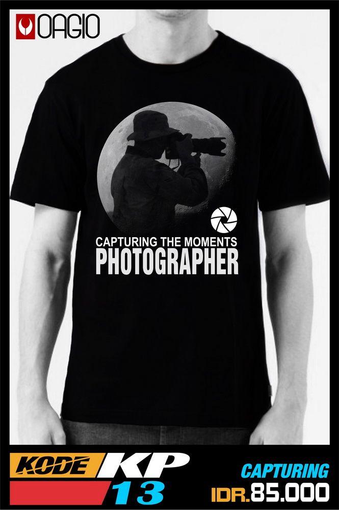 #kaosdistro Jual kaos distro Bandung murah berkualitas cocok untuk semua fotografer dengan bahan katun combed 24s warna hitam tersedia ukuran M, L, dan XL
