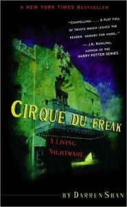 Cirque Du Freak By Darren Shan Darren and his best friend, Steve, get tickets to the Cirque Du Freak, a wonderfully gothic freak show featuring weird, frightening half human/half animals who interact terrifyingly with the audience. In the midst of the excitement, true terror raises its head when Steve recognizes that one of the performers– Mr. Crepsley– is a vampire!