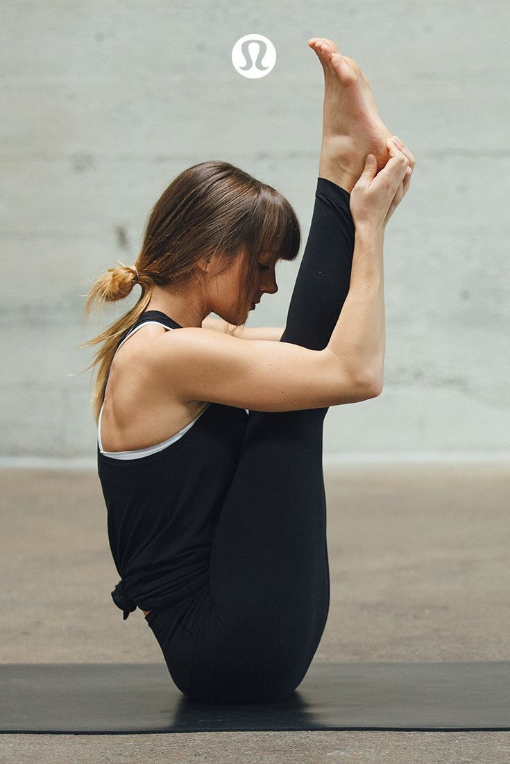 Practice presence in the lululemon essential yoga pieces.