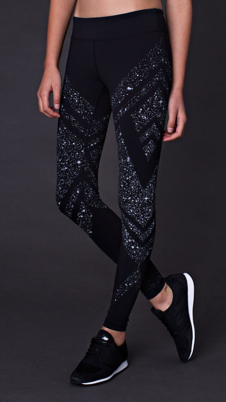 Moon Gem Collection. Light the way with this inspiring print in the classic style you love. Be strong, be stellar. | Rhythmic Tight Luxtreme