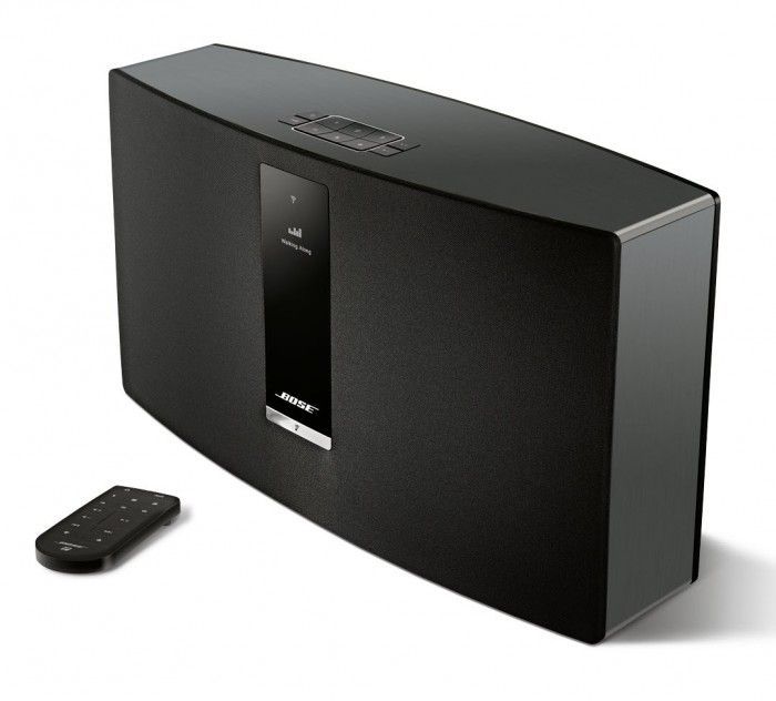 The Bose® SoundTouch® 30 Series 2 offers connectivity to 20,000 Internet radio stations from around the world, and music services like Deezer, Pandora®, Spotify® and iHeartRadio.