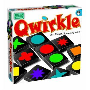 Qwirkle Board Game - like Scrabble, but without all the spelling.
