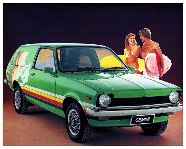 Holden Gemini Panel Van - 1978
