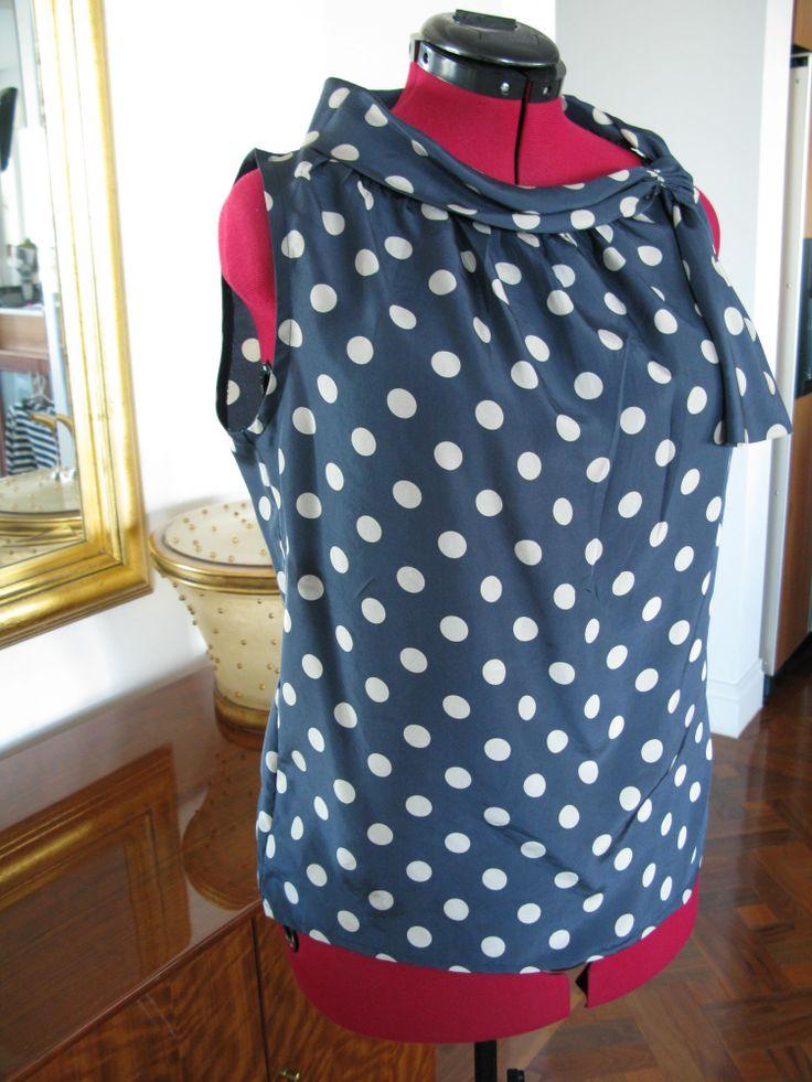 Silk top - Burda pattern
