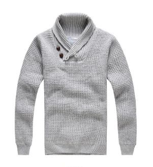 Mega Sale Event! 60% OFF now on this Sweater! While Stock Last! Color : Light Gray Material : Acrylic Blend Size : XS, Small, Medium XS Shoulder : 43 cm / 17 inch - Length : 66 cm / 26 inch Chest : 96