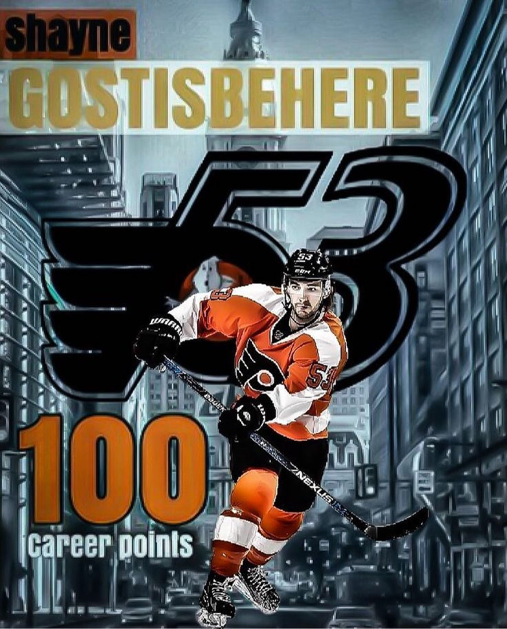 Ghost   Reach 100 career points at the start of his career quicker than  any defenseman in Flyers history. He did it in his 155th career game last night  against the Chicago Blackhawks.  The old record: 100 points in 163 games by Behn Wilson. (Mark Howe scored his 100th point with the Flyers in his 122nd game but he didnt do it at the start of his career.) #philadelphiaflyers #flyers #flyersfan #flyersforever #flyersnation #flyershockey #nhl #nhlhockey #orangeandblack #orangeandblackattack…
