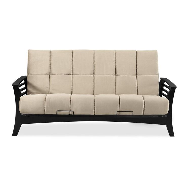Simmons Chicago Futon Frame With 8 In Beautyrest Mattress Si Ex Chi