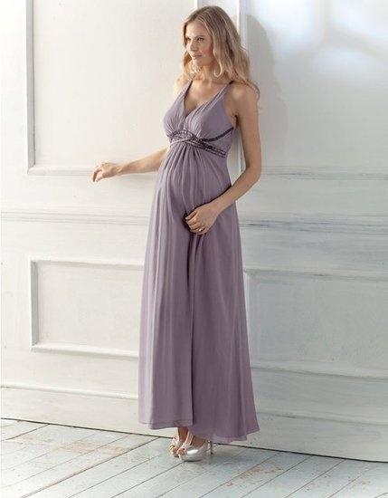 Seraphine Lilac Beaded Silk Dress