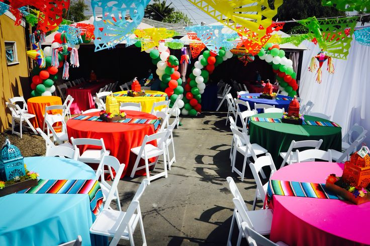 Fiesta party , Mexican party , paper Picado , Centerpieces , party , event , linen , fiesta Centerpieces , Mexican Centerpieces
