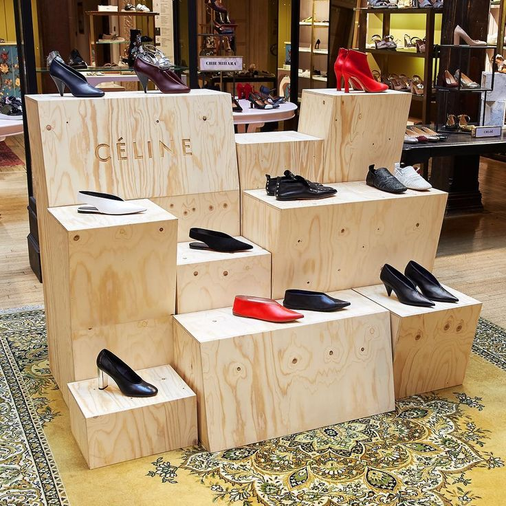 "LIBERTY. London, UK, ""Keep your feet happy with Celine footwear"", pinned by Ton van der Veer"