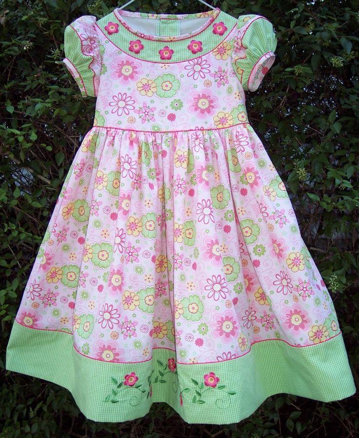 3101 best dresses images on pinterest girls dresses for Children s cotton dress fabric