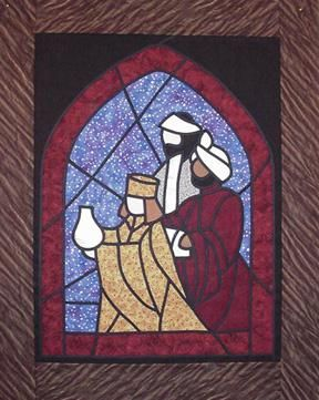 www.Stainglassquilting | The Kings Stained Glass Kit