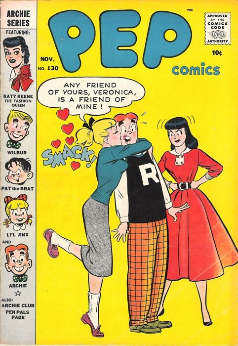 #archie comics    Love Archie Comics so much! Childhood & teenage years would have Archie as a defining part of me. Still love them today. Hope my children will too.