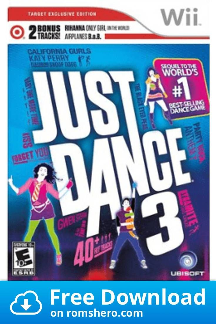 Download Just Dance 3 Target Edition Nintendo Wii Wii Isos Rom Just Dance Just Dance 3 Wii