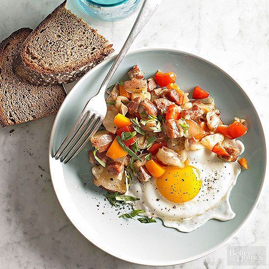 This delicious hash recipe is great for breakfast or brunch. This savory hash dish is healthy and full of flavor and heartiness.