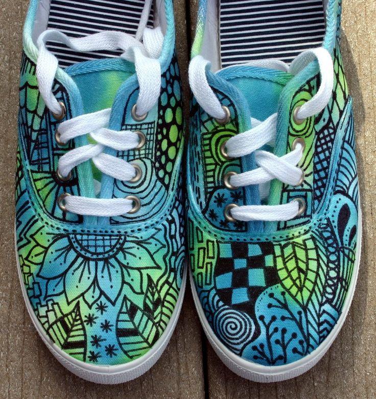 Zentangle Art | zapatillas