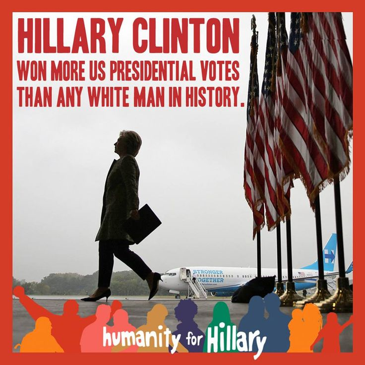 Going on 2 million votes more... they robbed her and us.