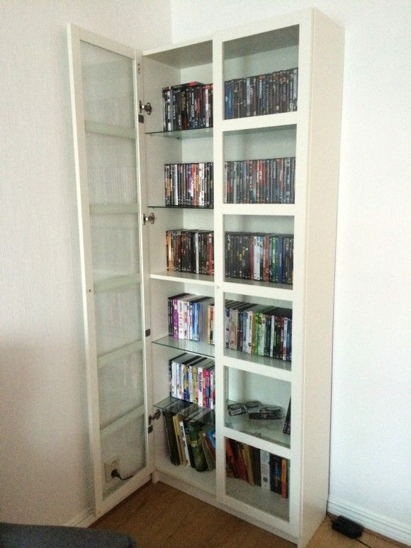 BILLY with DVD collection   BILLY   Pinterest