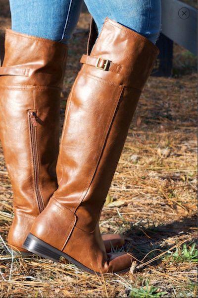 Rider Boot in Cognac